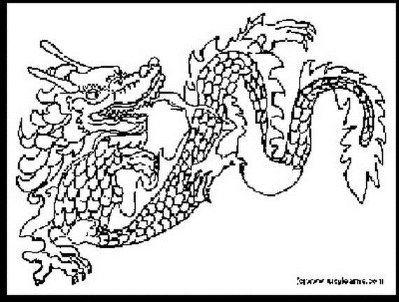 Dragon Coloring Sheets For Adults