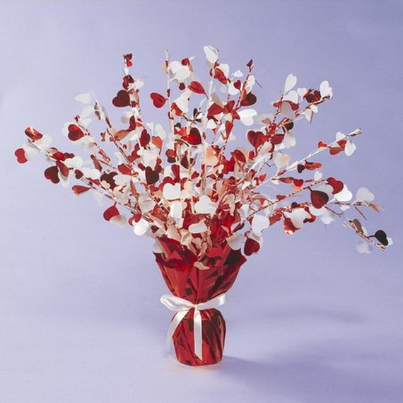 Amazing amp Easy Homemade Valentines Day Centerpieces Ideas