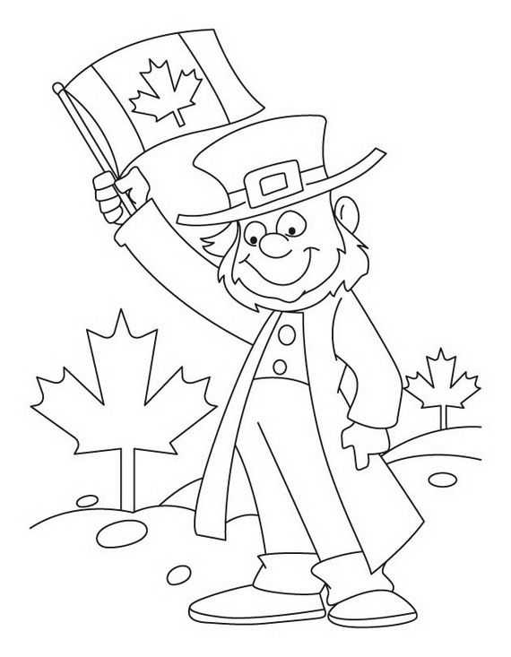 canada day coloring pages - photo#15